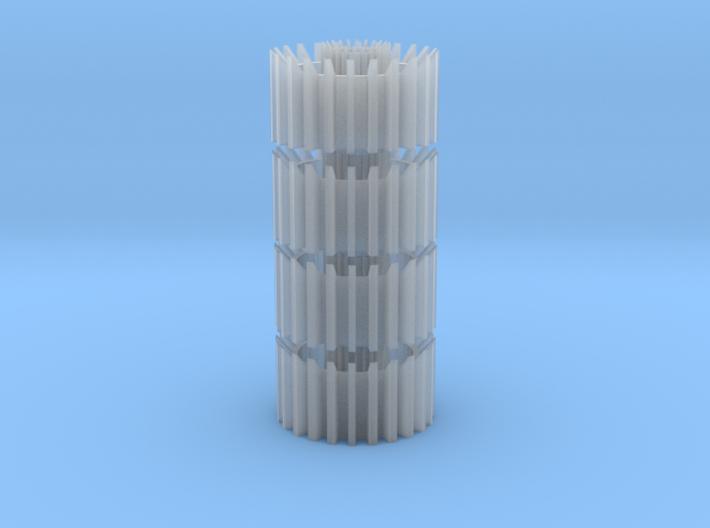 2256-ven-nozz-stack 3d printed