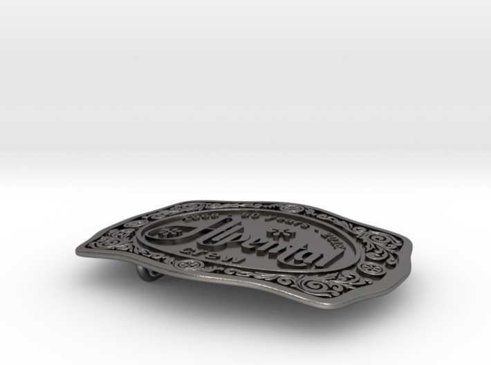 Alpental Crew Belt Buckle - #012 3d printed