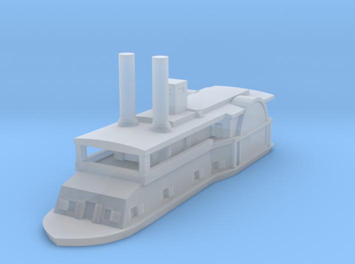 1/1200 USS Fairplay 3d printed