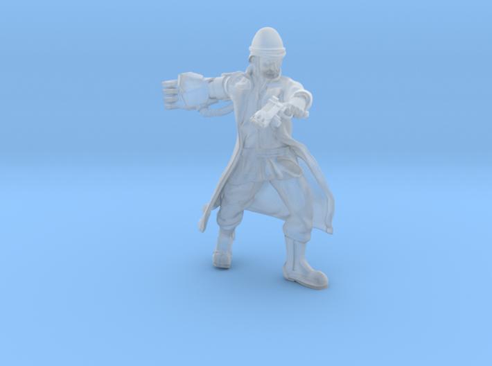 zulu wars commander energy fist and plasma revolve 3d printed