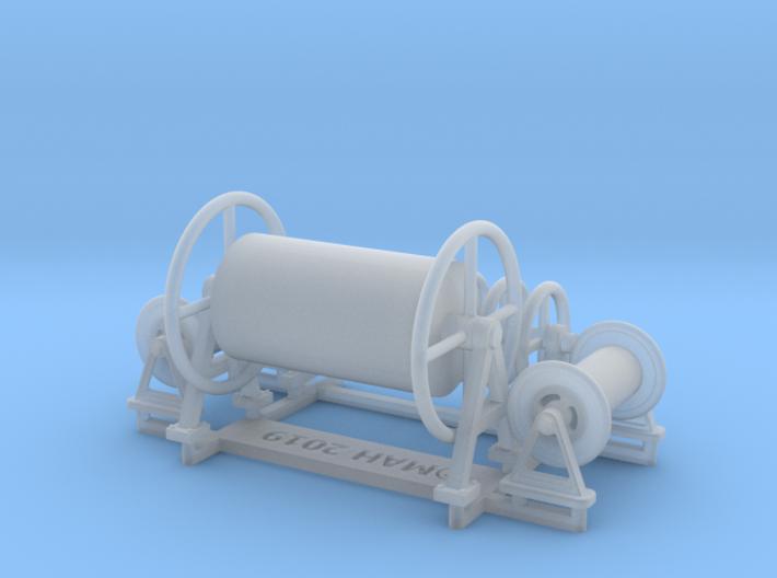 P boat reels set 1/48 3d printed