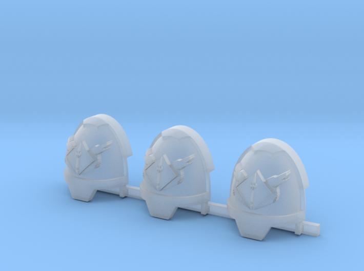 Wolfspear Gravus pads x3 #3 R 3d printed