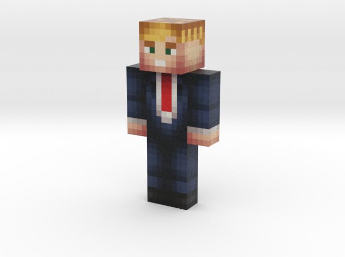 DonaldTrump | Minecraft toy 3d printed
