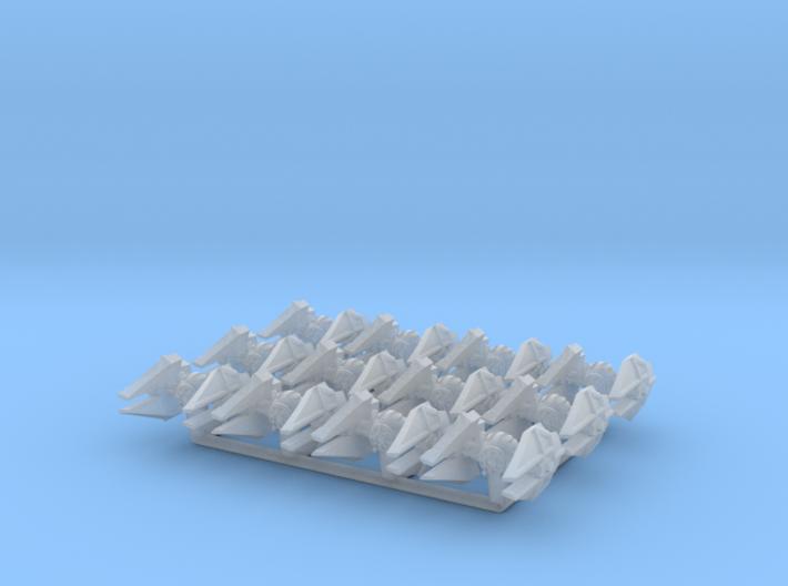 (Armada) 12x First Order TIE Interceptor 3d printed
