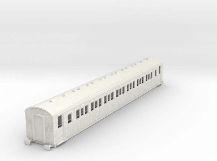o-87-secr-continental-corr-second-coach 3d printed