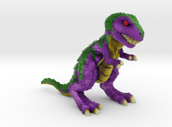 Retrosaur - Upstart, Full Color 3d printed