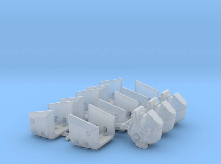 RX-77D MP Guncannon Bits for Space Marines 3d printed