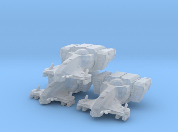 Tau Harbinger MICRO 3 pack 3d printed