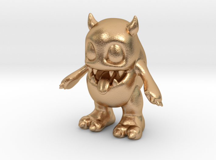 Baby Monster 3d printed