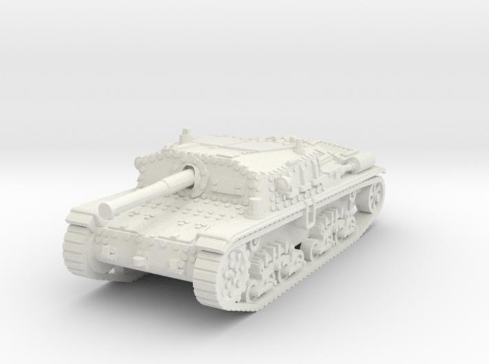 Semovente M42 75/34 1/87 3d printed