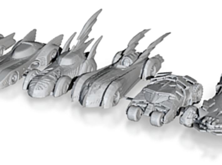 Batmobiles 220 scale 3d printed