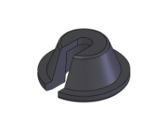 1409 Offset Spring Bucket (single) 3d printed