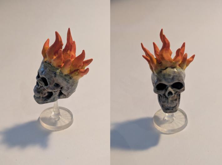 Flameskull 3d printed