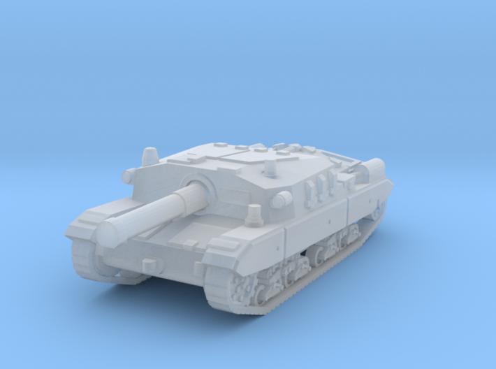 Semovente M43 105 1/160 3d printed
