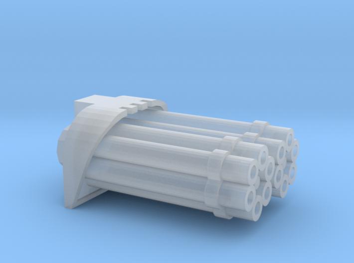 Proteus Pattern Warhound Vulcan Barrels - A 3d printed