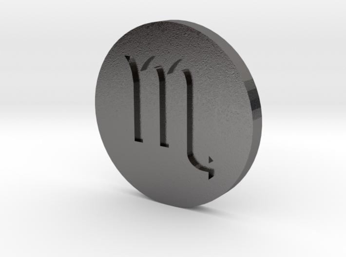 Scorpio Coin 3d printed