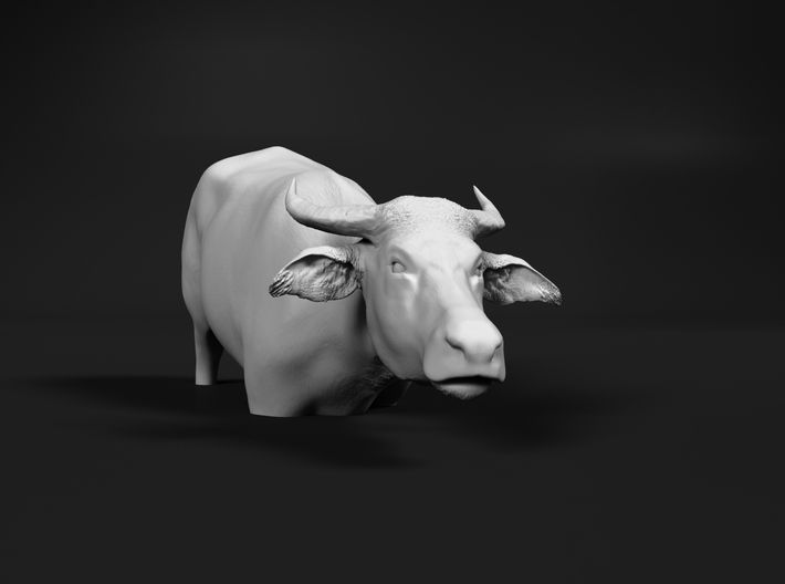 Domestic Asian Water Buffalo 1:60 To Deeper Water 3d printed