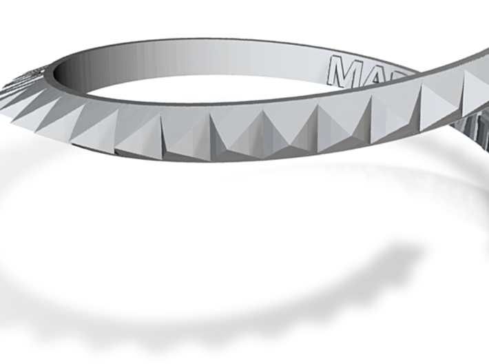 Made-with-code-bracelet 3d printed