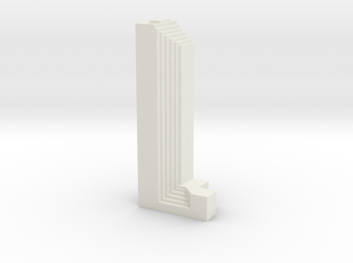Three First National Plaza - Chicago (1:4000) 3d printed