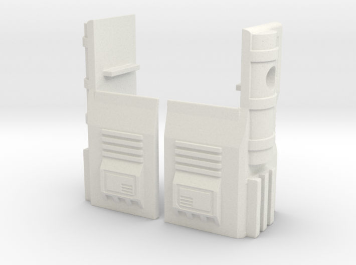 TF WFC Siege - Ultra Magnus G1 Thigh Accessories 3d printed
