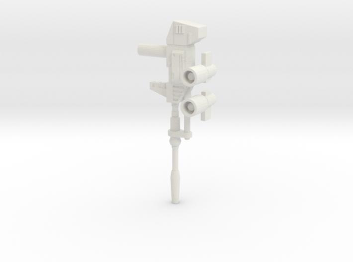 TF WFC Siege - Prowl/Bluestreak Weapons 3d printed