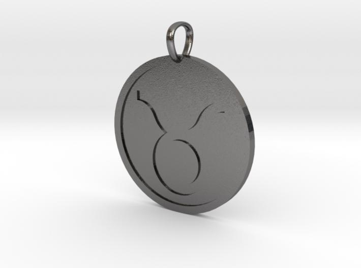 Taurus Medallion 3d printed