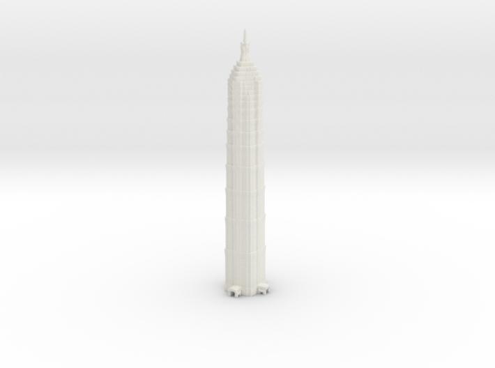 Jin Mao Tower - Shanghai (6 inch) 3d printed