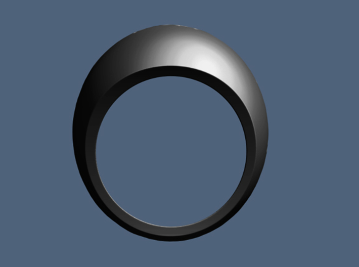 CA Dreamin' Ring - Size 9 (18.95 mm) 3d printed
