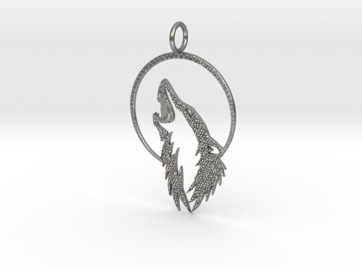 Wolf N' Moon w/ KAPS crust 3d printed