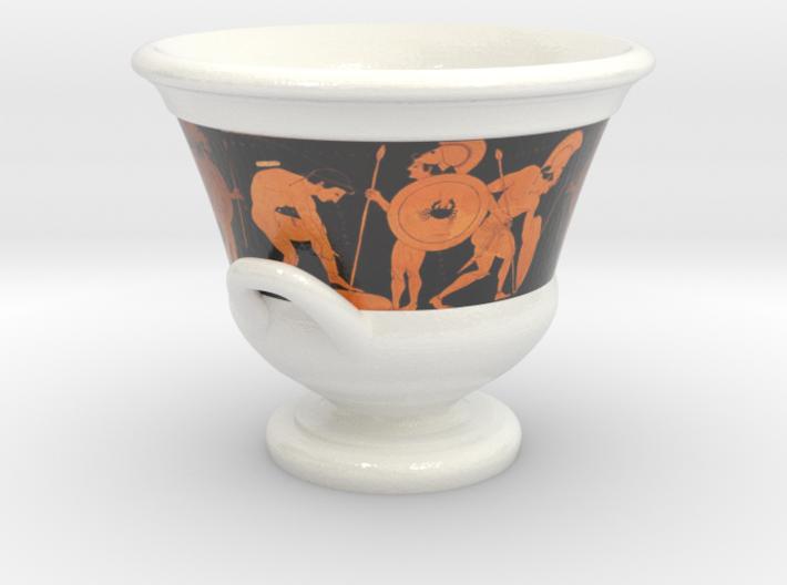 Euphronius Krater Cofee Cup 3d printed