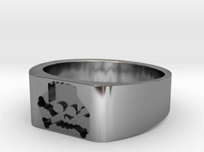 Bort Sampson ring small 3d printed