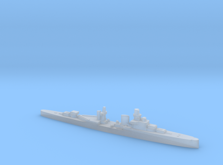 Luigi Cadorna light cruiser 1:3000 WW2 3d printed