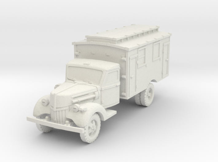 Ford V3000 Radio early 1/87 3d printed