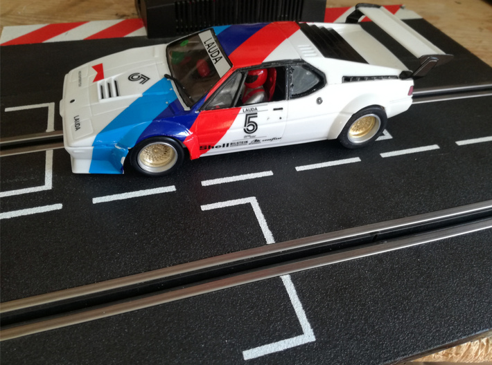 Chassis 124 M1 Procar Revell 13D 3d printed