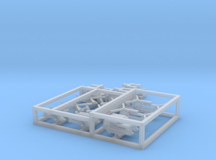 HMS Ocean Aviation Set, 16pc, 1/1250 3d printed
