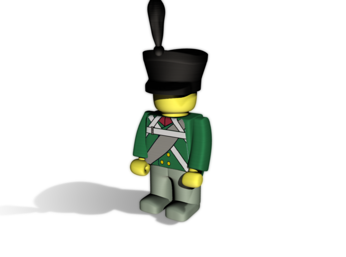8 x Russian (Napoleonic) 3d printed Line Infantry