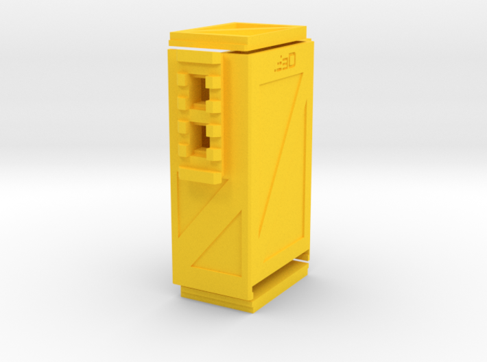 Crate Battery Box (54mm x 35mm x 94mm ID) 3d printed