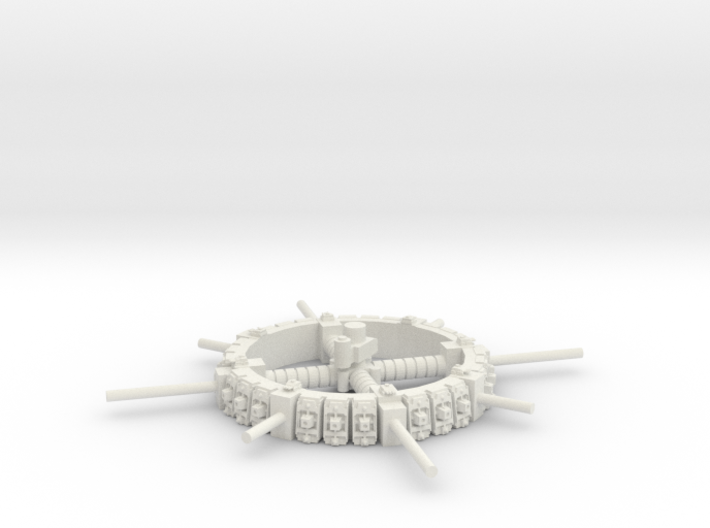 Merchant Space Station 3d printed