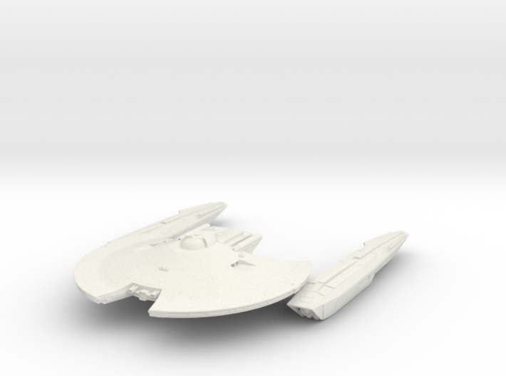 Federation Hawk Class ScoutDestroyer 3d printed