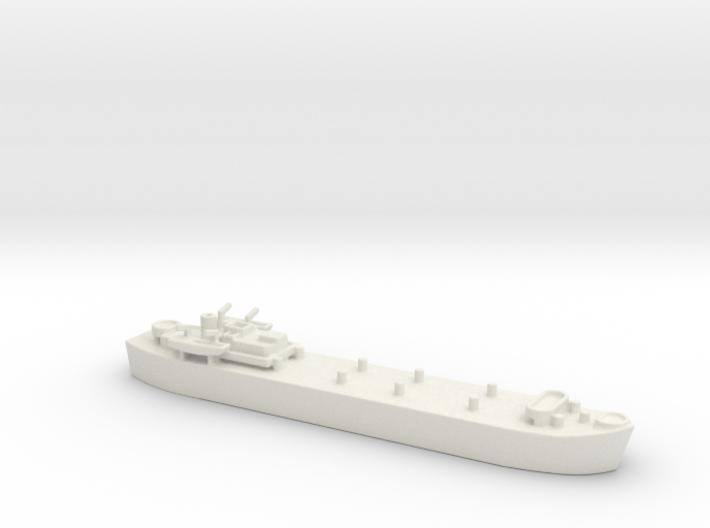 landing ship tank MK3 LST MK3 1/1200 3d printed