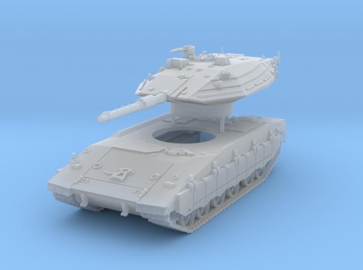 Merkava Mk 4 MTB Scale: 1:160 (v2) 3d printed
