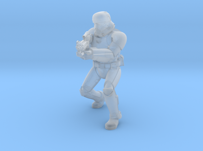 First Trooper A2 3d printed