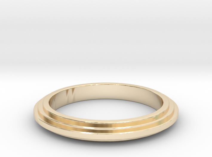 Ring Sticked 3d printed