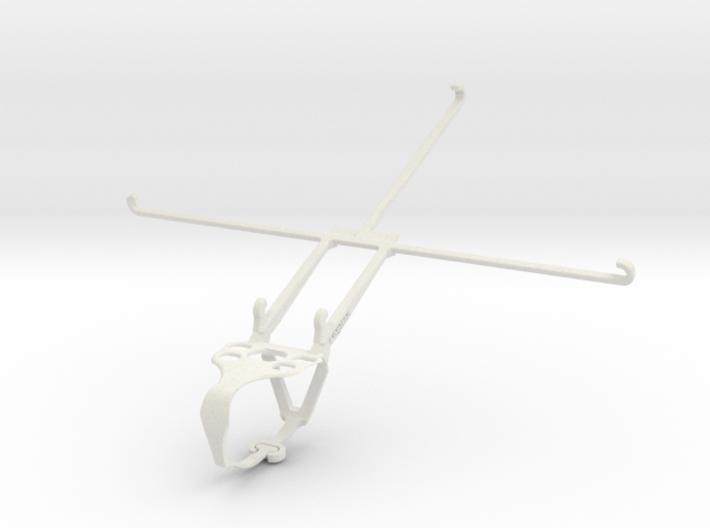 Logitech F710 & Apple iPad Air (2019) - Front Ride 3d printed