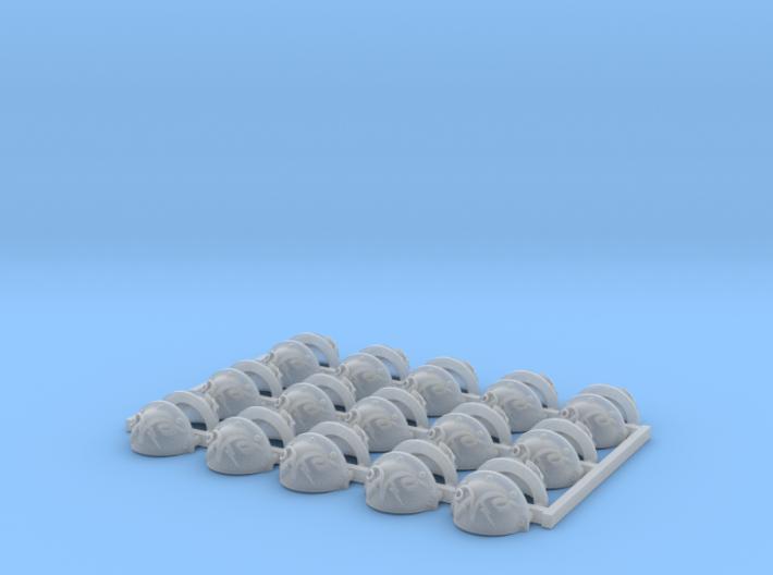 30x Thunder Ram - Argonaut Shoulder Pads 3d printed