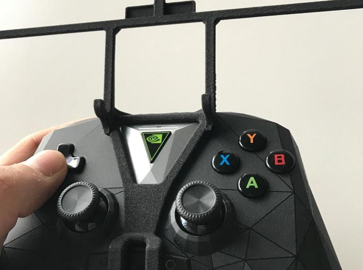 NVIDIA SHIELD 2017 controller & Apple iPad mini (2 3d printed SHIELD 2017 - Front rider - barebones