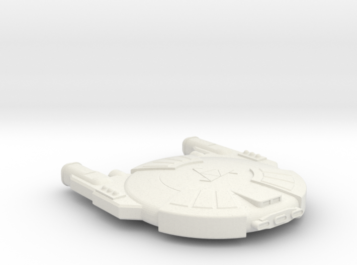 3788 Scale Andromedan Mamba Heavy Destroyer SRZ 3d printed