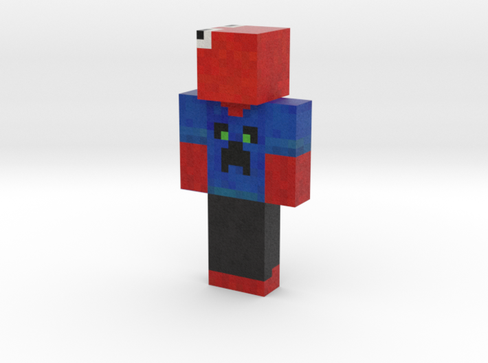 Frogperson | Minecraft toy 3d printed