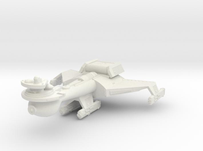 3788 Scale Romulan K10R Battleship WEM 3d printed