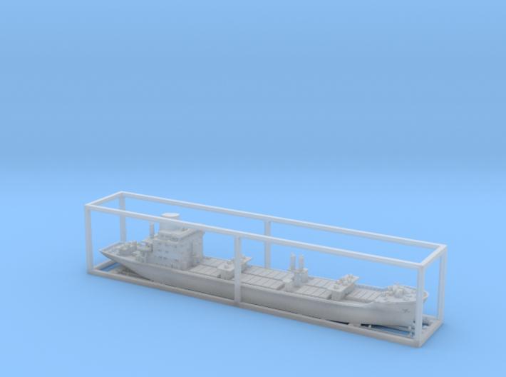 1:1250 scale ship model aldabi 3d printed